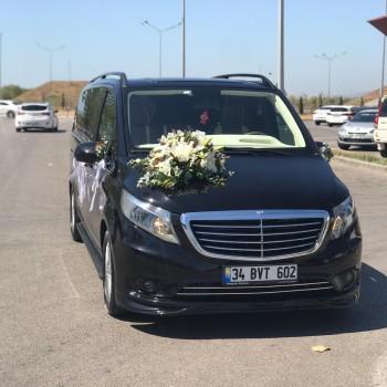 Şoförlü Düğün Arabası Kiralama